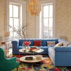 Modern Rug Ideas For Living Room Color Latest Trends In Decorating Rooms With Floor Rugs Design Blue Sofas And Colorful Floral