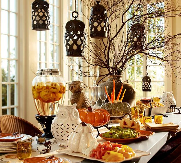 Decorating themes include island getaway, parisian, casual, and more. Halloween Decorating Ideas for Party Tables, Stunning
