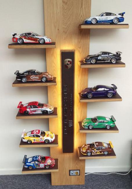 Wall Decorating With Toy Cars Kids Storage And