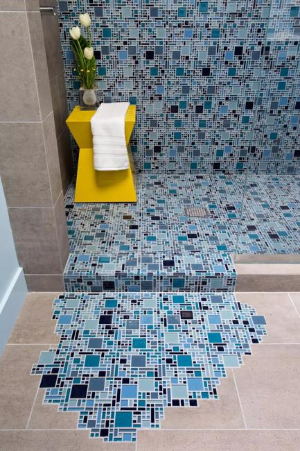 Navy Blue Bathroom Accessories
