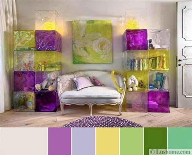 10 Bright Interior Color Schemes Floral Inspirations And Interior Decorating Ideas