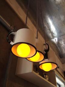 recycling diy outdoor lights