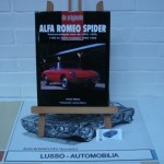 The original Alfa Romeo Spider 1300, 1600, 1750 and 2000 models restoration guide by Rees, Chris. Hardcover. Language Dutch. Price euro 65,00
