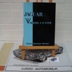 Repair Operation Manual for Jaguar V12 series 3 E-Type. Softcover. Language English. Price euro 85,00