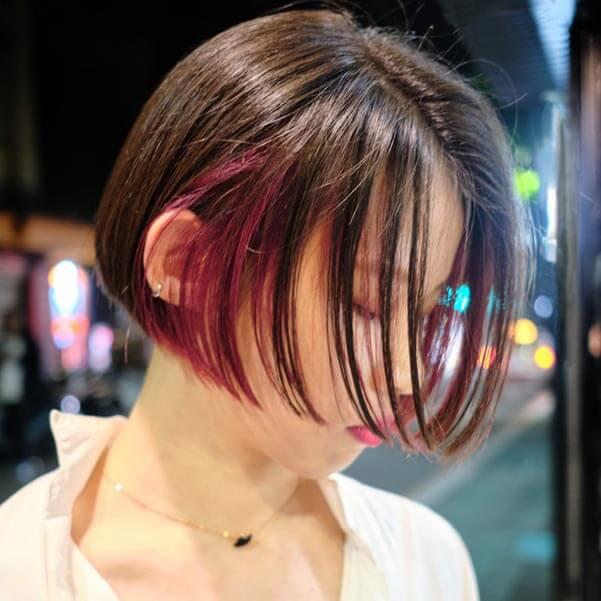 師大剪髮推薦 LUSSO師大店 髮型師Aero- 女生短髮燙髮染髮