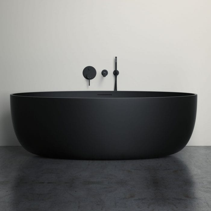 New Matte Black Bathroom Products  Lusso Stone