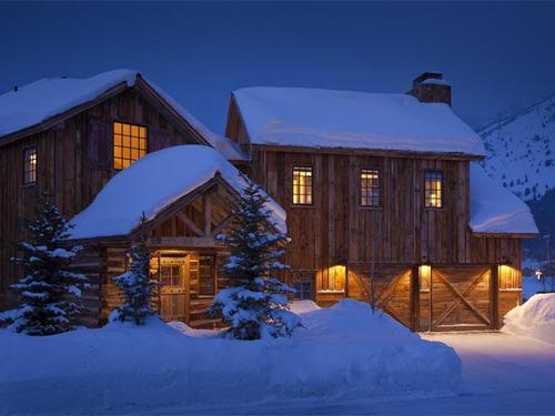 Cottage di lusso nel Wyoming a 42 milioni di dollari  Lussuosissimo