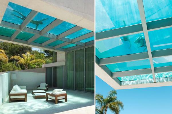 JellyFish House la casa con la piscina sul tetto
