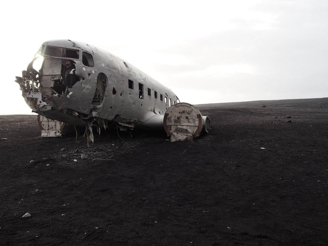 Iceland Sólheimasandur Plane Crash