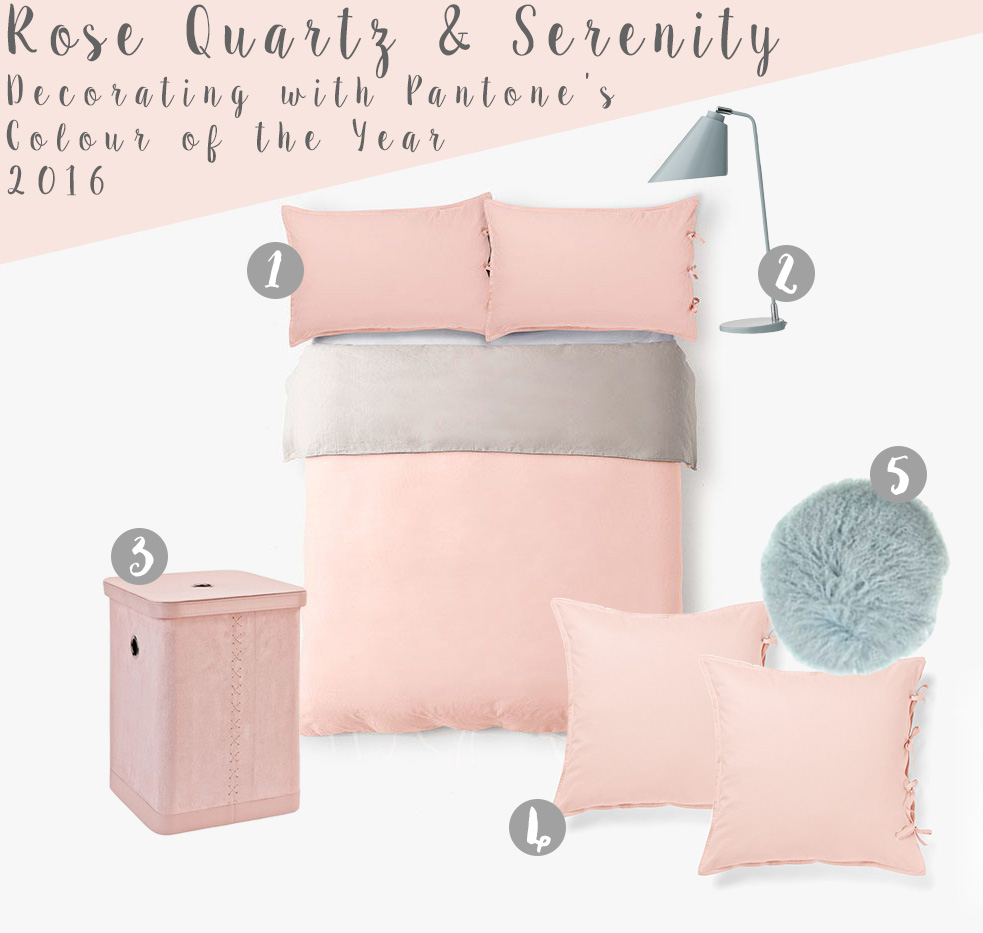 Pantone Colour of the Year 2016 Bedroom
