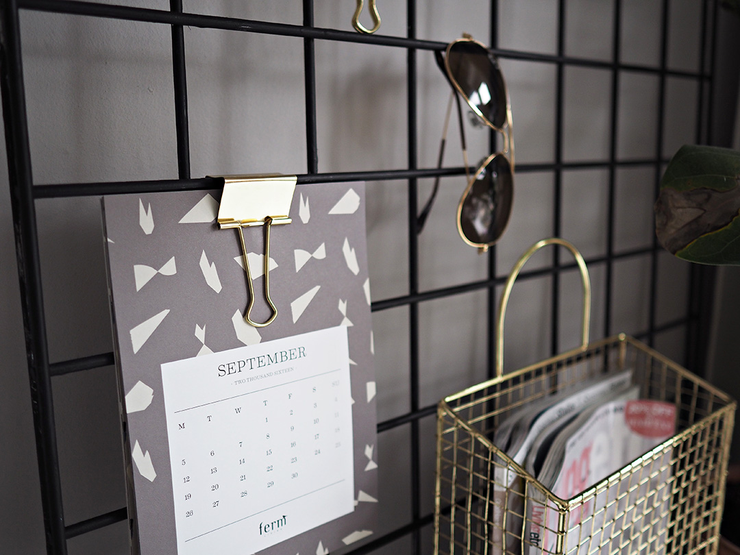 DIY WIRE MEMO BOARD