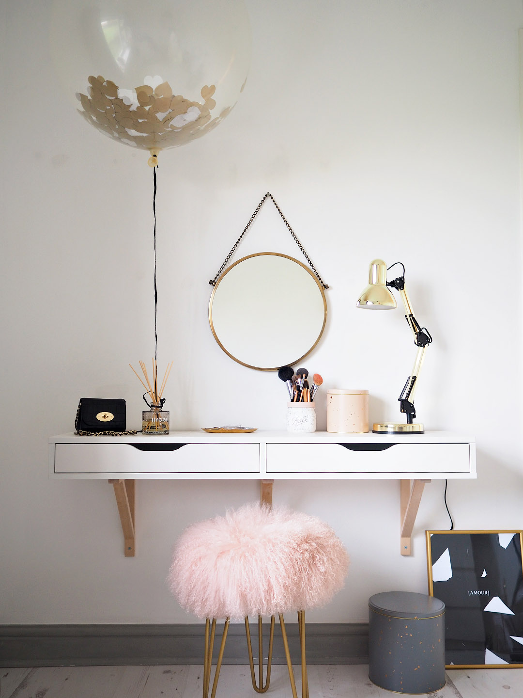 Scandi Dressing Table