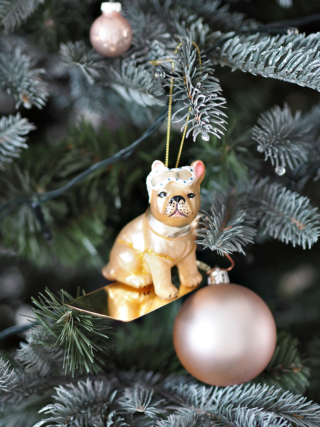 French bulldog Christmas Tree Decoration
