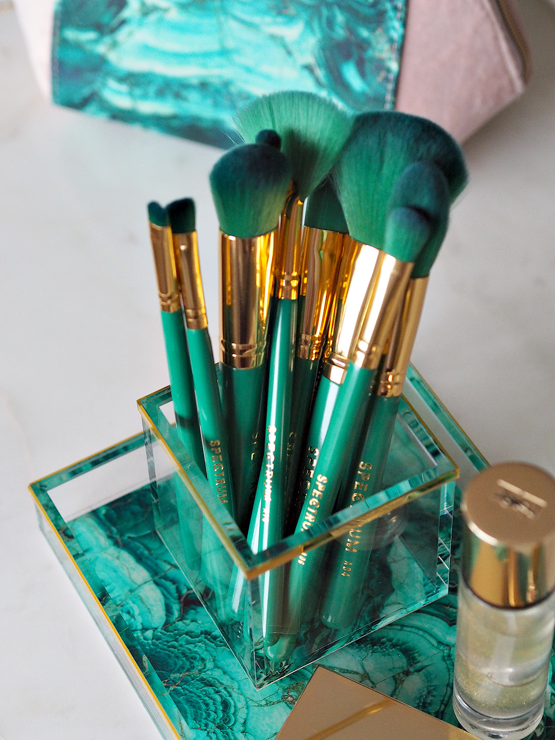 Spectrum Crystal Chic Makeup Brushes