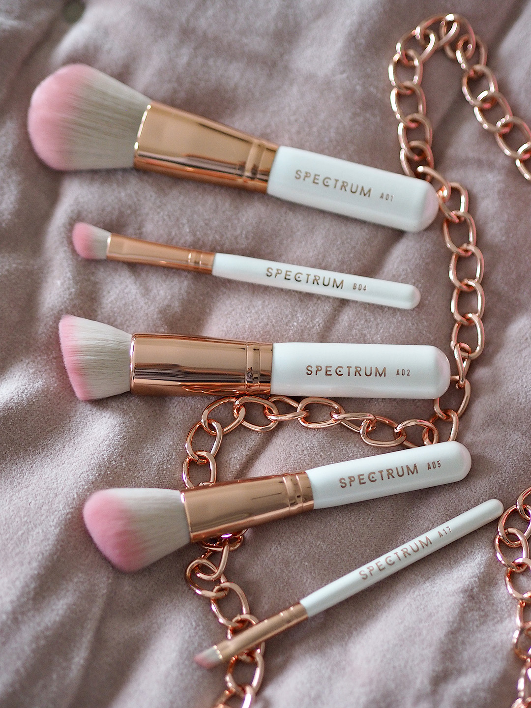 Spectrum Sweetheart Makeup Brushes