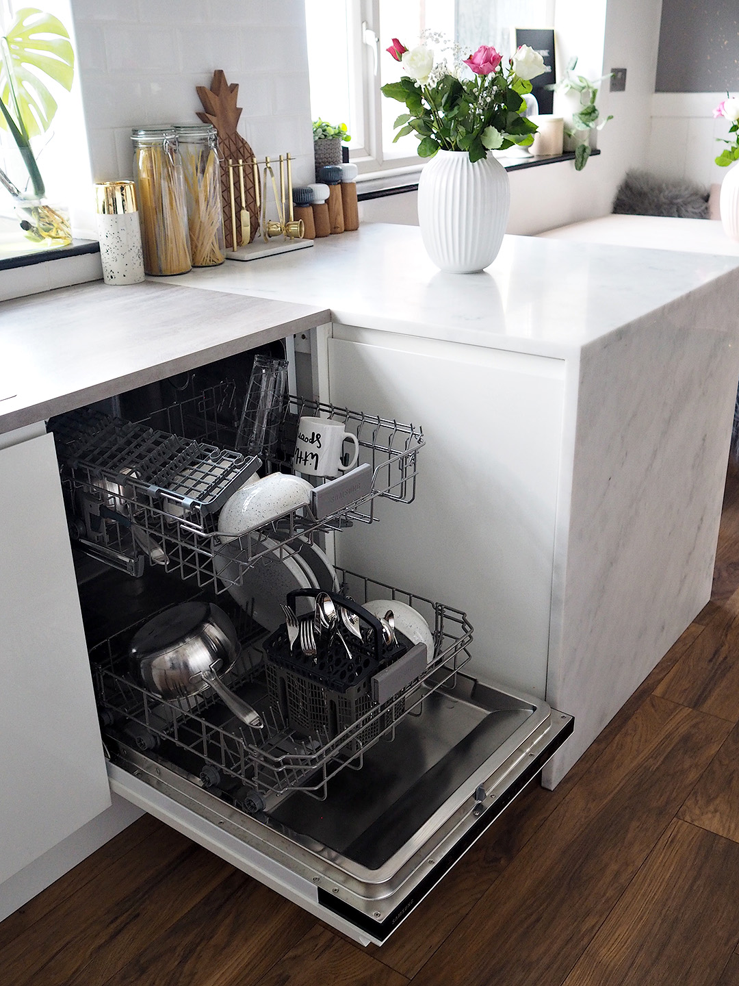 Samsung DW60M6040BB Fully Integrated Standard Dishwasher Review