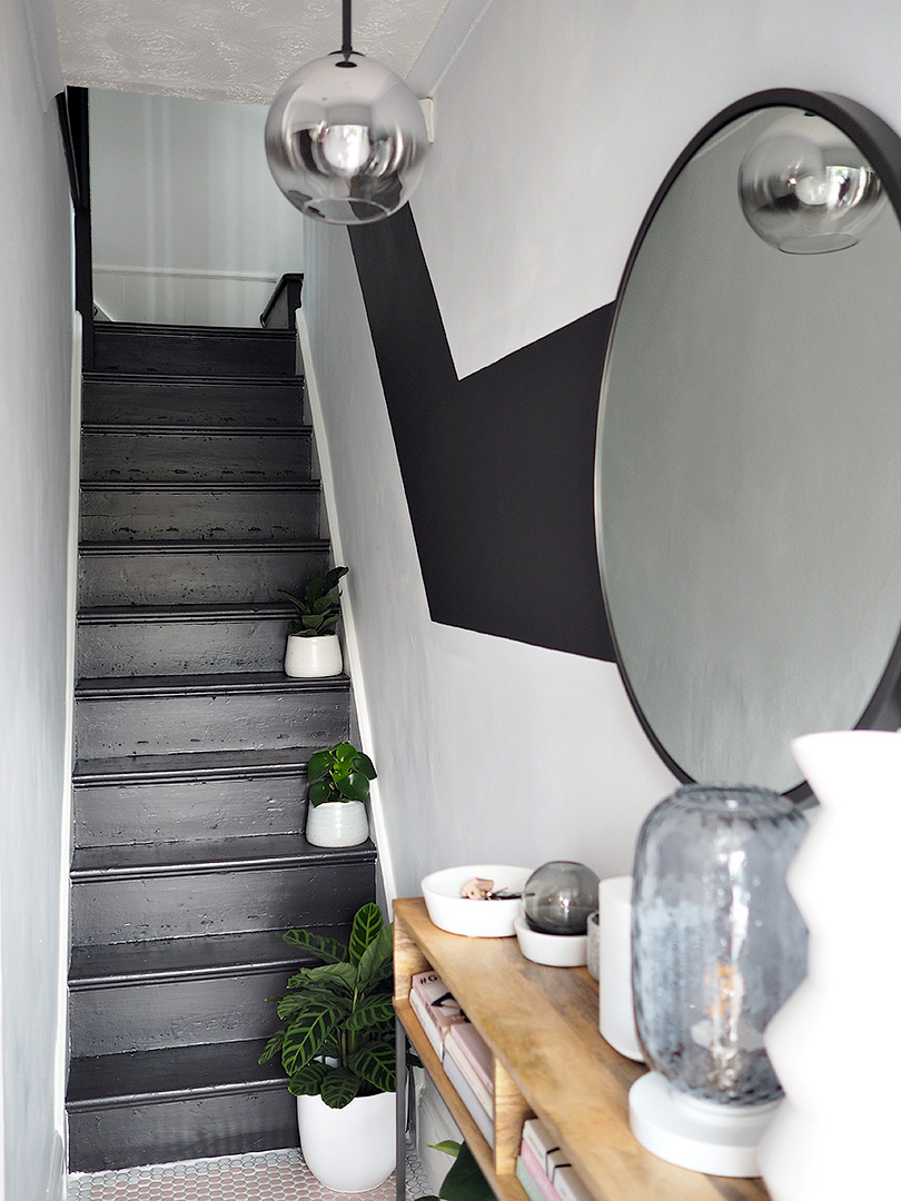 Revamp Restyle Reveal – Monochrome Hallway & Landing Makeover