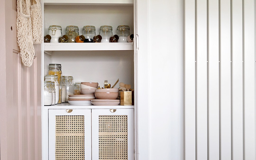 Under the Stairs Pantry Cupboard Reveal