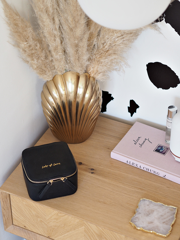H&M Home Brass Shell Vase