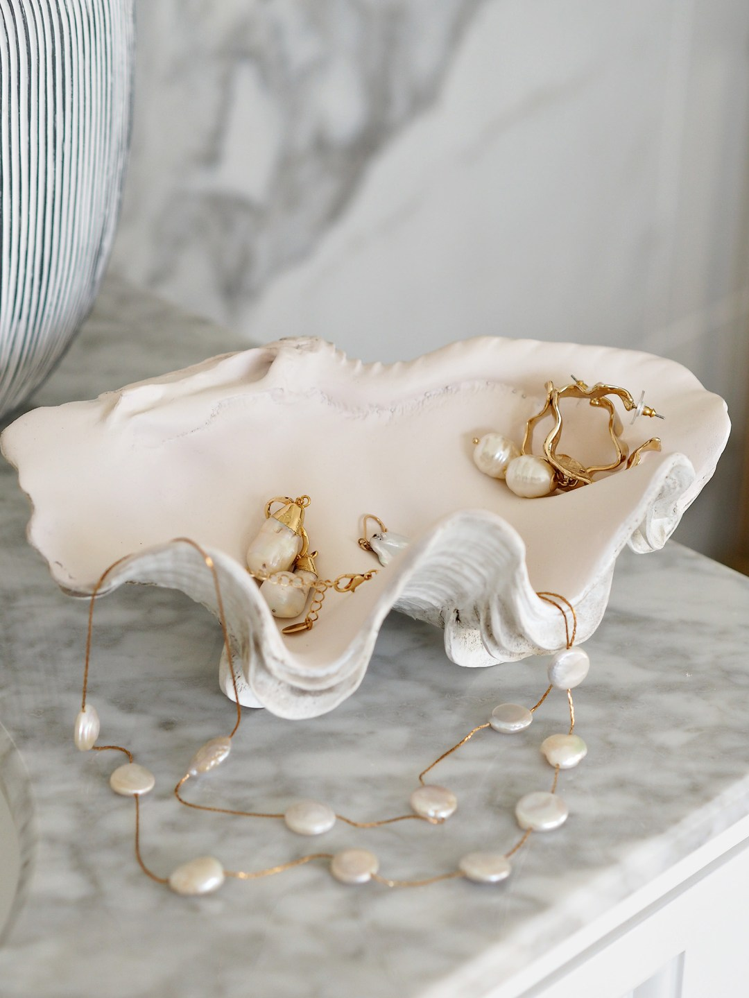 Faux Giant Clam Shell