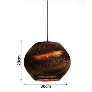 Suspension rotin sphère