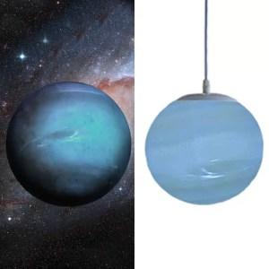 Lustre planète Neptune
