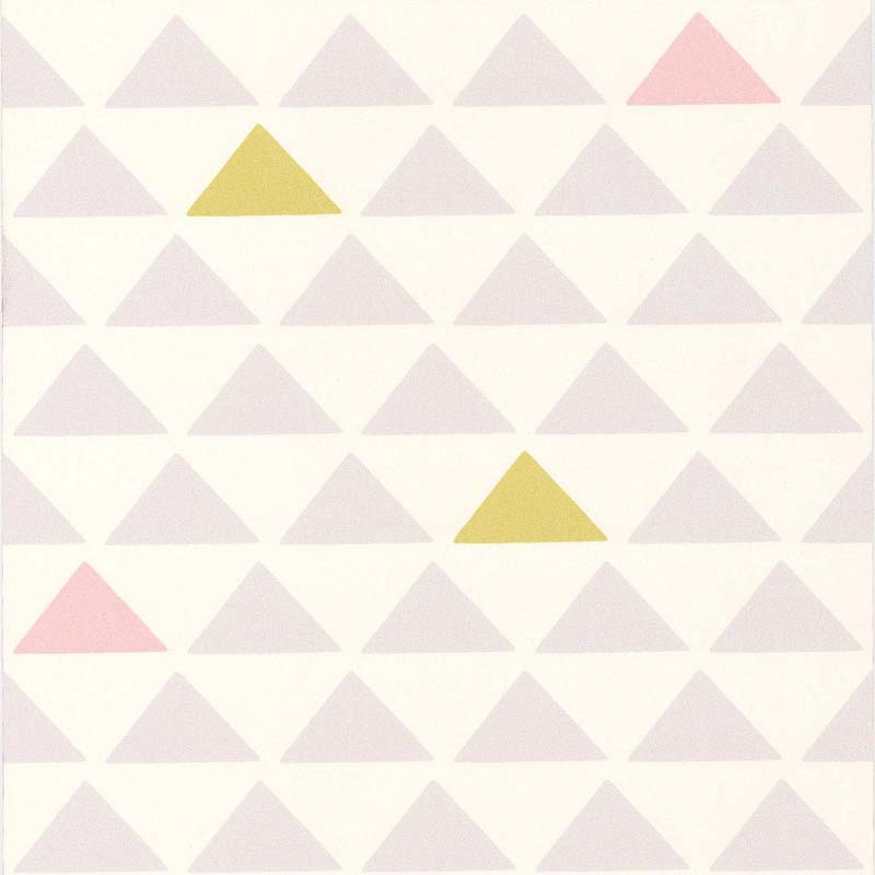 Papier peint TRIANGLE ROSEVERTGRIS  51145703 de la collection papier peint Sjour et chambre