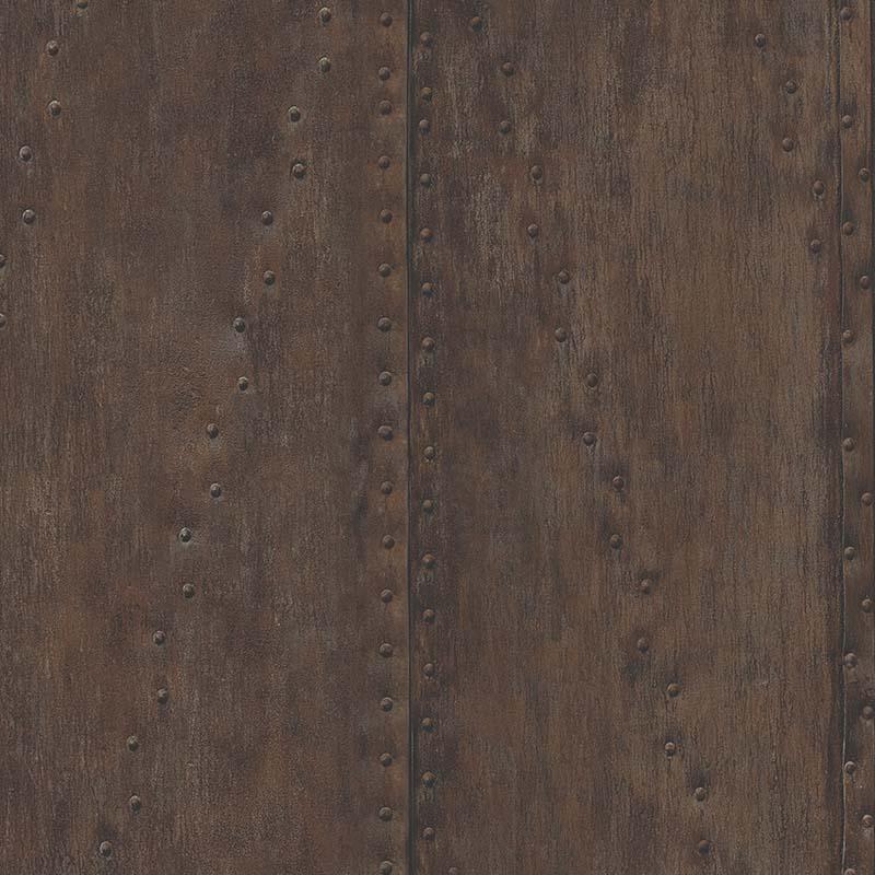 papier peint plaque metal rouille