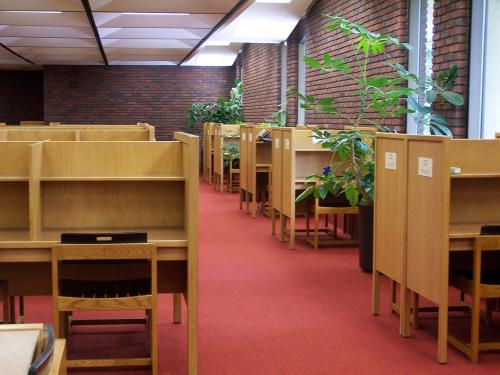 Senior Study Carrels  Library  Luther College