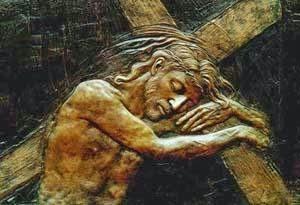 Jesus Carry Cross sm