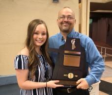 Kaitlyn Fesler earns academic honors