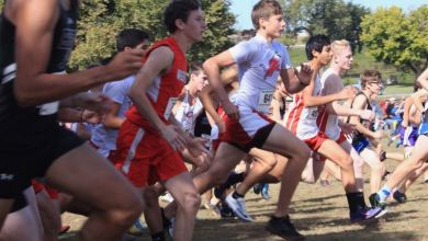 Photo of Luther Cross Country Runs at State Meet