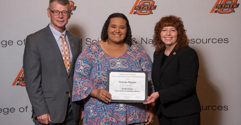 OSU scholarship Makala Parsons