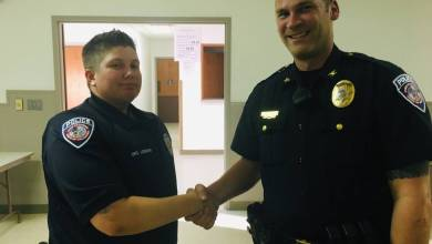 Photo of New School Resource Officer Hired and other Luther Town Trustees' Action