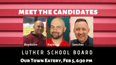 Photo of Luther School Board Candidate Forum