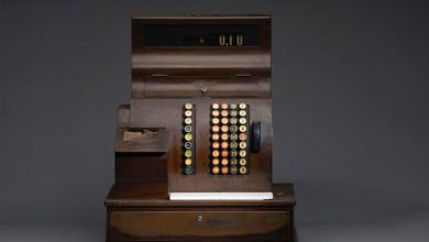 Photo of New Smithsonian Exhibition Includes Threatt Station Cash Register