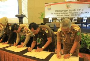 Perjanjian Kerjasama APIP - APH Kabupaten