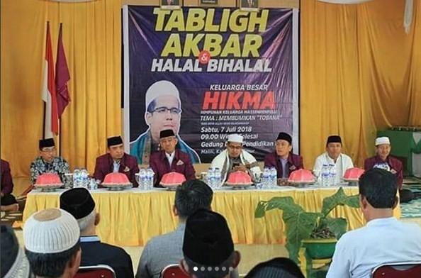HIKMA Lutim Gelar Tabliq Akbar Halal Bi Halal