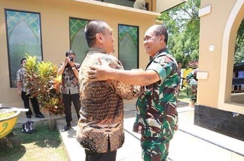 Wabup Sambut Pangdam XIV Hasanuddin
