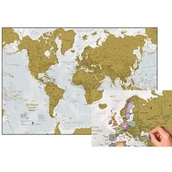 meilleure carte du monde à gratter