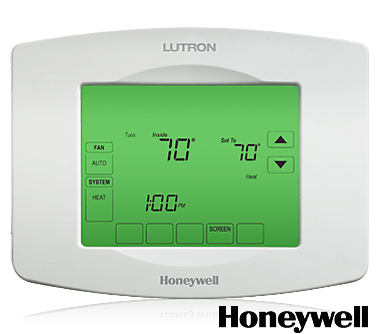 Mobile Home Thermostat Wiring Diagram The Lutron Touchpro Wireless Thermostat Combines The