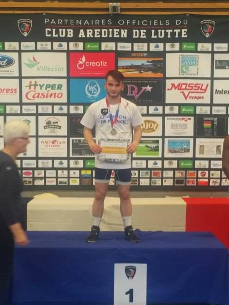 Championnat de France 2017 - Minimes, cadets et juniors lutte libre (1)
