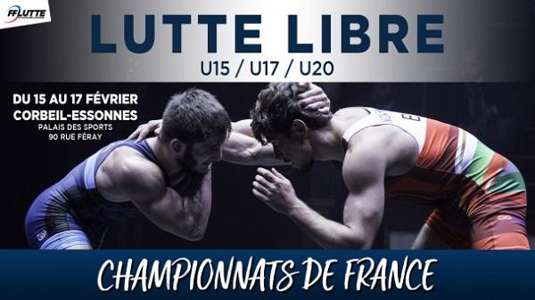 Championnats de France Minimes-Cadets-Juniors lutte libre 2019