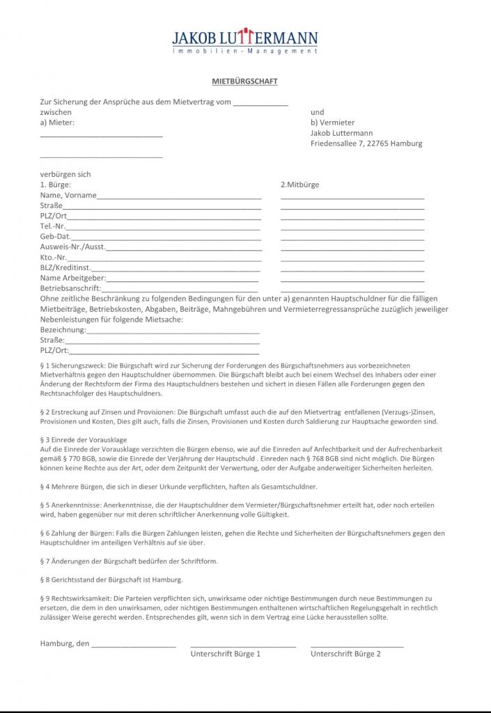 Formulare  LuttermannImmobilien