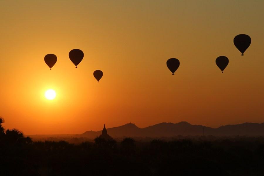 Tempels hoppen in Bagan!