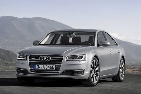 Audi A8 restyling