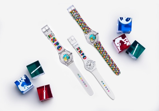 Swatch Expo watches