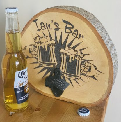 Personalised Log Slice
