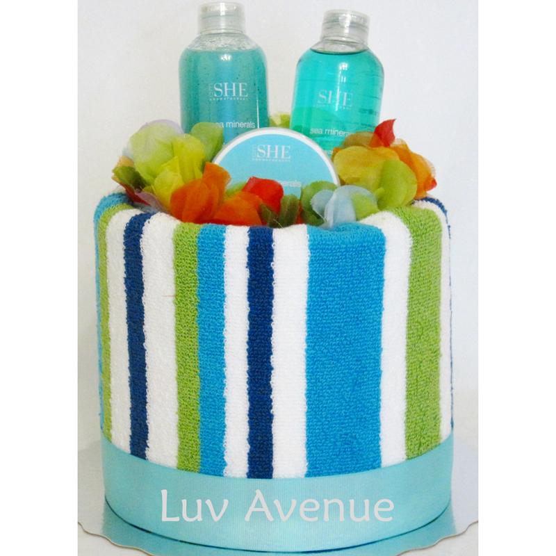 Towel Cake Luv Avenue PortfolioLuv Avenue