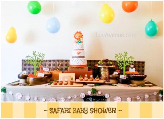 Safari Baby Shower Luv Avenue